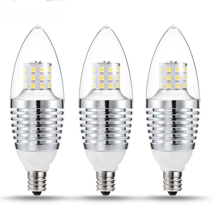 $18.29 (Buy here: https://alitems.com/g/1e8d114494ebda23ff8b16525dc3e8/?i=5&ulp=https%3A%2F%2Fwww.aliexpress.com%2Fitem%2F3Pcs-7W-LED-Light-Bulbs-Dimmable-Candle-Light-Bulb-E12-Base-110V-Equivalent-LED-Bulbs-Energy%2F32727720235.html ) 3Pcs E12 LED Dimmable Light Bulbs Candle Light Bulb 110V Equivalent LED Bulbs Energy-saving Chandeliers LED Bulb for just $18.29