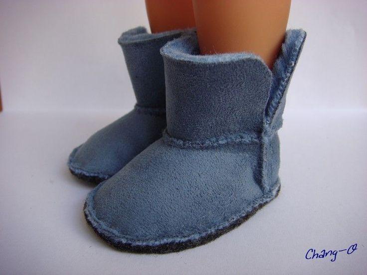 Boots_fourr_es_bleues