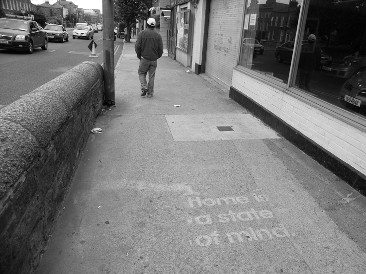 Clanbrassil Street, Dublin 8, Ireland - The 'Home' Project Context: http://www.create-ireland.ie/events-2009/public-art-the-home-project.html