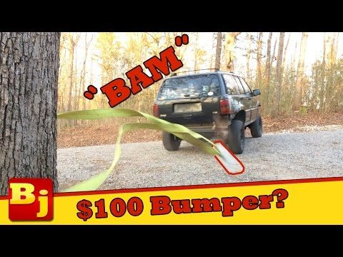 $100 Cheap Jeep Bumper Build - Operation Cheap Jeep - YouTube