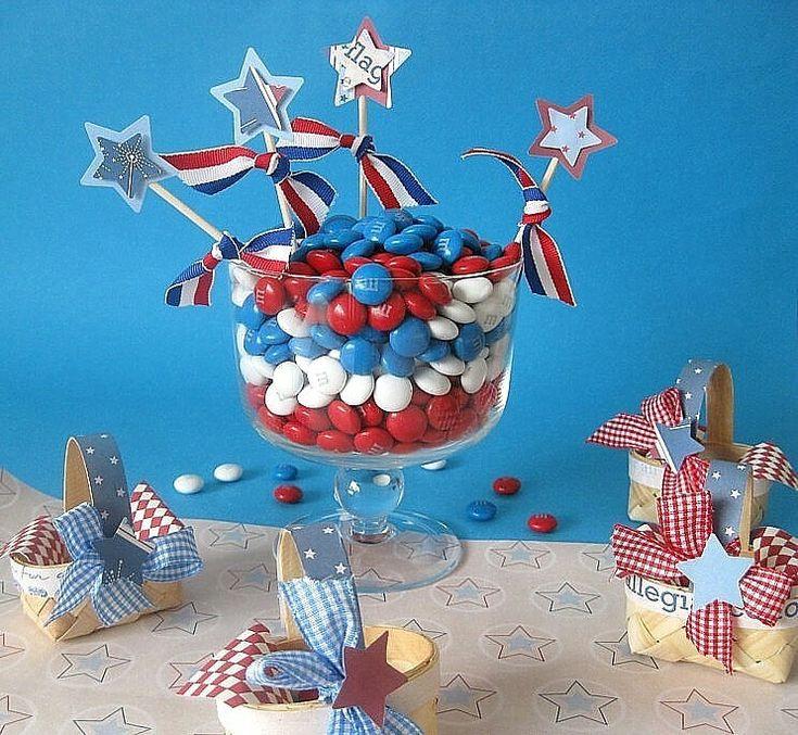 Patriotic Picnic Party Decor Ideas