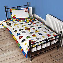 LEGO Single Duvet Cover and Pillowcase Set at johnlewis.com