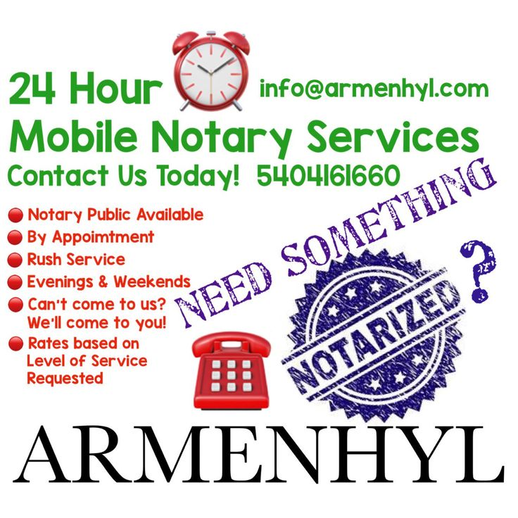 Armenhyl is a trusted mobile notary public signing agent