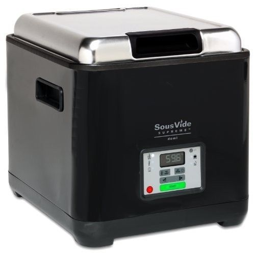 #Sousvide #supreme demi water cooker home gourmet cooking oven #svd-00101 , black,  View more on the LINK: http://www.zeppy.io/product/gb/2/111904990020/