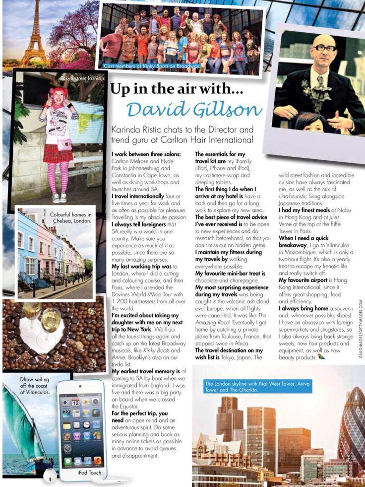 SAA Sawbona my world travel guide