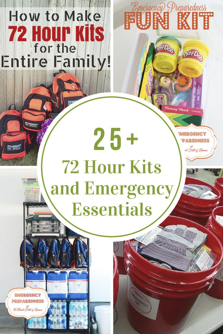 Start preparing for a natural disaster by putting together 72 Hour Kits and Emergency Supplies for you and your family. Being prepared helps me to sleep a little better at night! What about you?