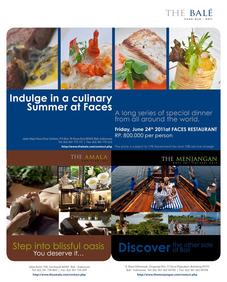 The Lifestyle Retreats Print Ads (Magazine), Bali - 2011