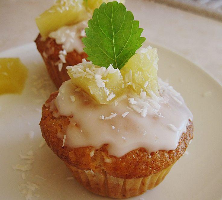 25+ beste ideeën over Ananas kokos cupcakes op Pinterest - Zomer - chefkoch käsekuchen muffins