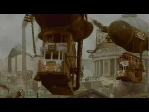 '1884'  Terry Gilliam presents '1884 Yesterdays Future'... Animation test..