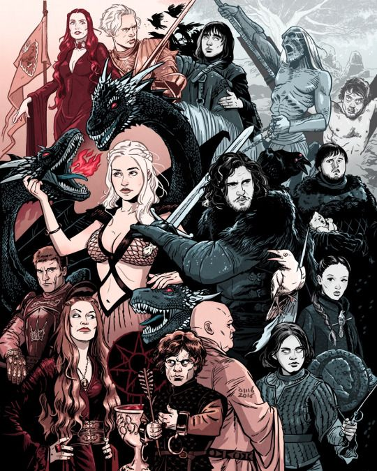 Game of Thrones by David M. Buisán