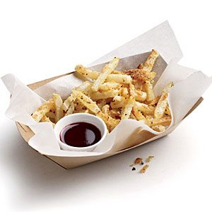 It's turnip time! Take advantage of turnip's peak season, and serve up Garlicky Turnip Fries with Pomegranate Ketchup.