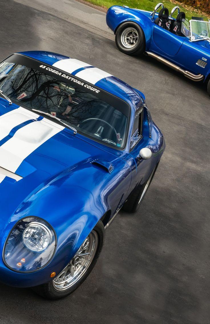 Shelby cobra daytona coupe and cobra 427