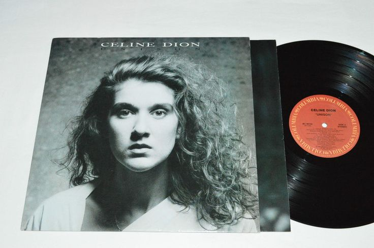 CELINE DION Unison LP 1990 Columbia Records Vinyl Canada BC-80150 VG /VG  #Chanson