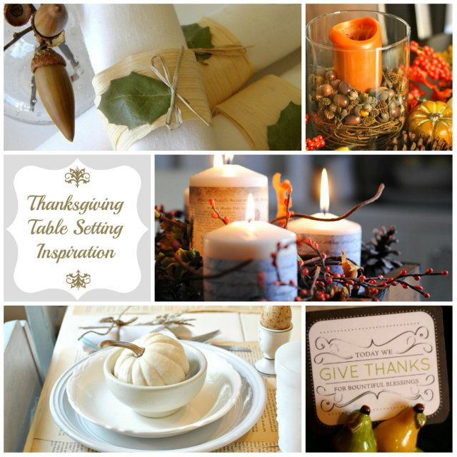 Thanksgiving Table Settings Pinterest: 1000+ Images About Thanksgiving Table Setting Inspiration
