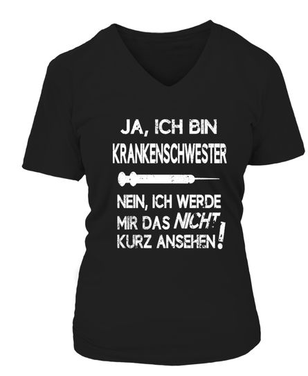 Das perfekte T-Shirt für jede Krankenschwester, die oft genervt ist.