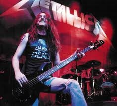 Cliff Burton (former bass player for metallica). Rest in peace.