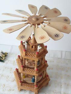 Christmas Pyramid 3 tier German Erzgebirge by TimelessGiftsandMore