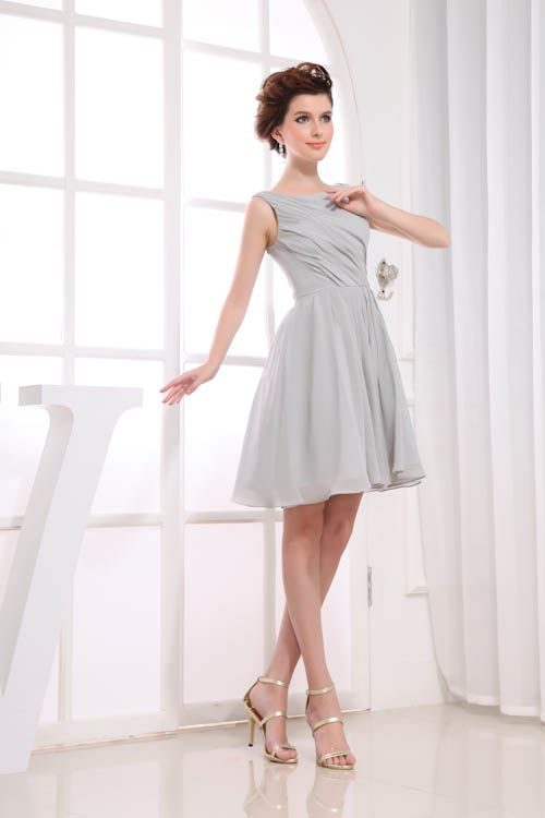 USD$75.00 - Item# Halter Neck Dress Fully Sequin Tea-length Cocktail 1110 - www.27dress.com