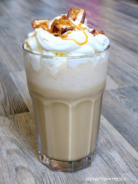 Rezepte mit Herz ♥: DIY : Starbucks Iced Caramel Snickers Frappuccino