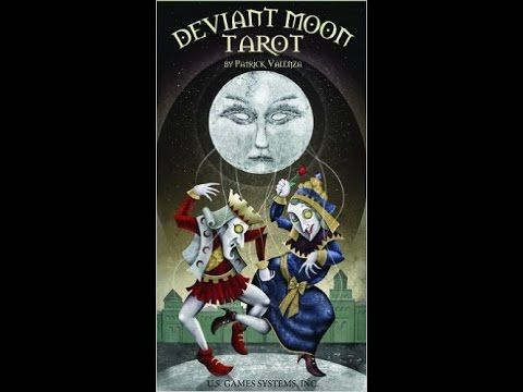 The Deviant Moon Tarot by Patrick Valenza: a card-by-card feature by Tarot Zamm. Talented artist Patrick Valenza presents uniquely alternative interpretation...