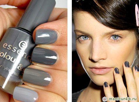 лак для ногтей серый - Поиск в Google