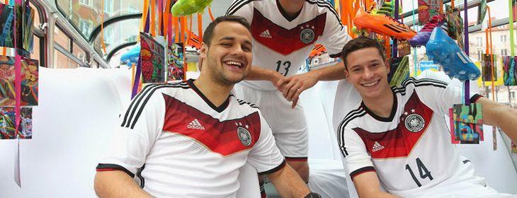 camisetas de Alemania 2014 1ª