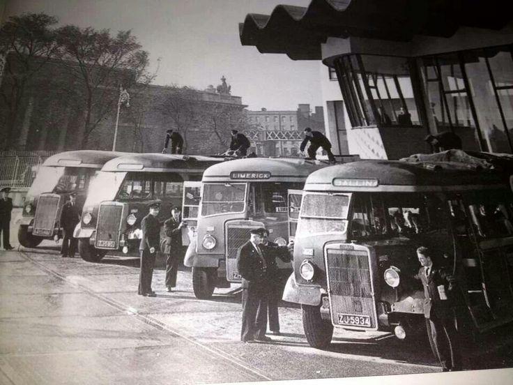 Busaras, Dublin - looks like the fifties.