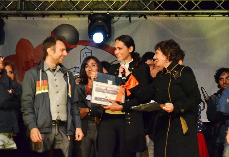 Premio Poggio Bustone, primi classificati Deborah Italia e Leon Dall'O con Il circo degli assenti