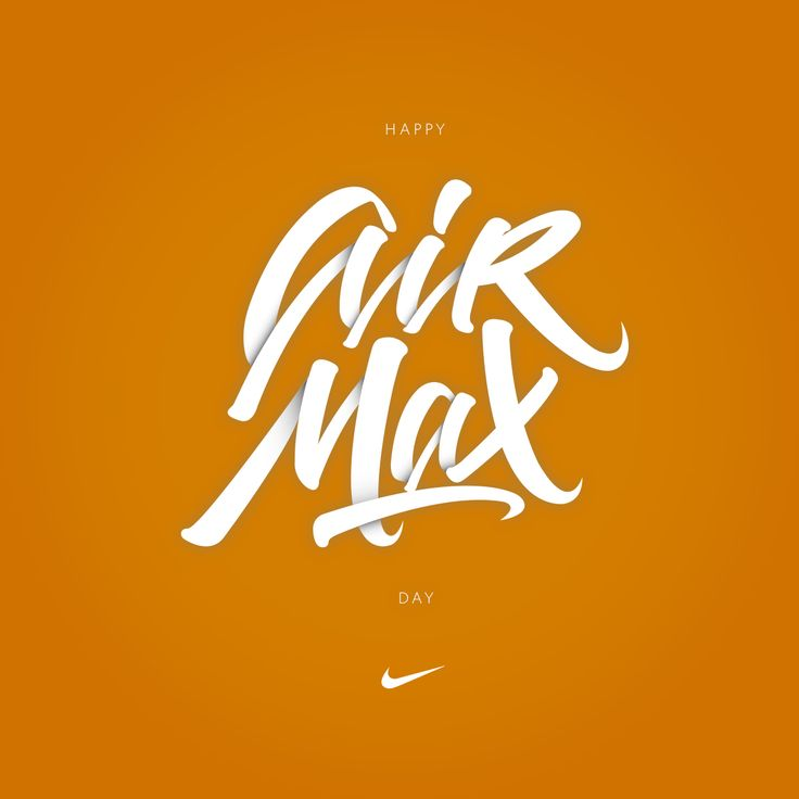 Happy Air Max Day del 2016 . #airmax #calligraphy #lettering #nike #andresvega