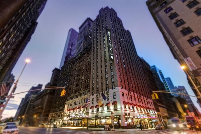 Wellington Hotel New York City - 871 7th Avenue at 55th Street, Clinton, New York City, United States.Set in Manhattan, this hotel is five minutes from the New York City Center. It is situated a brief stroll from Broadway and The Museum of Modern Art.