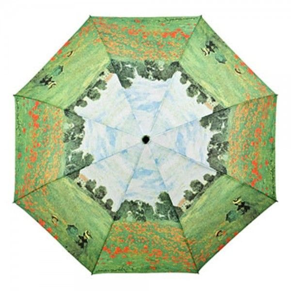 Claudemonet Monet Mohnblumenfeld Umbrella Boho Bohochic Bohemian Store Lifestyle Design Fashion Accessories Streetstyle Suns Claude Monet