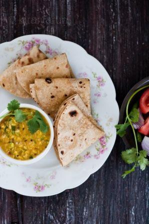 Homemade Chapati {Indian flat-bread} — kiran+tarun [ R e c i p e b ♥ x ]