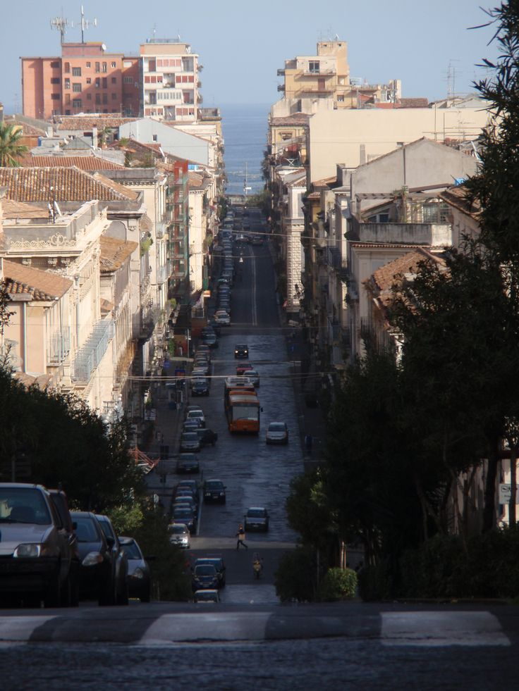 #Catania Street - #Italy #Sicily Catania