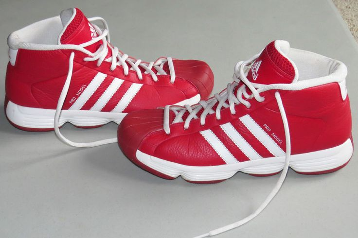 red adidas basketball shoes