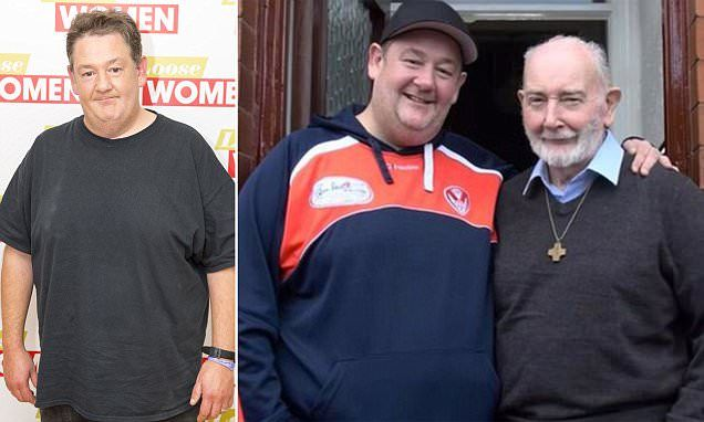Johnny Vegas has opened up about his heartbreak at his father's death, saying that he hasn't mourned him, and is 'angry' with him for dying so suddenly.