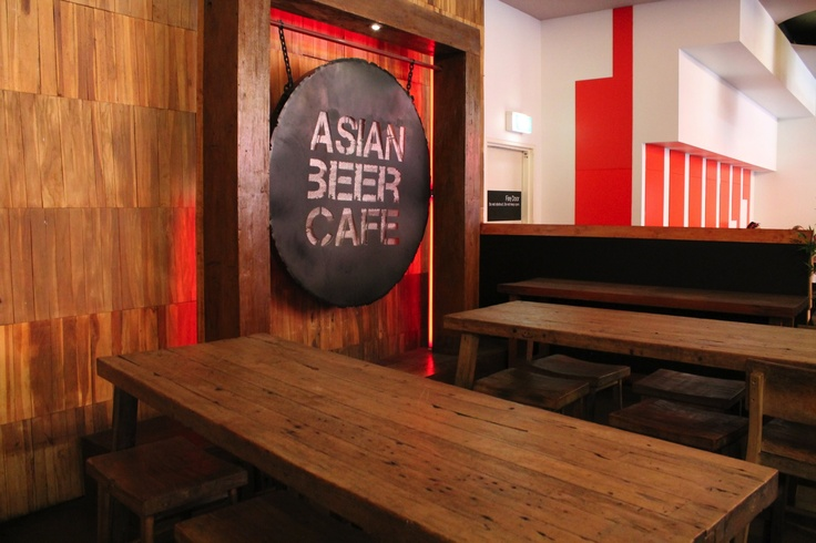 The infamous Asian Beer Cafe Gong at the Entrance