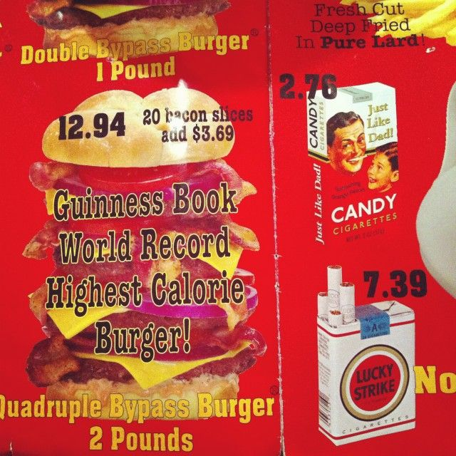 25 best ideas about heart attack grill on pinterest go
