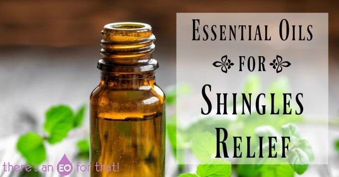 There are many effective essential oils for shingles that relieve pain, nerve damage, itching, pins and needles, inflammation, and post herpetic neuralgia.