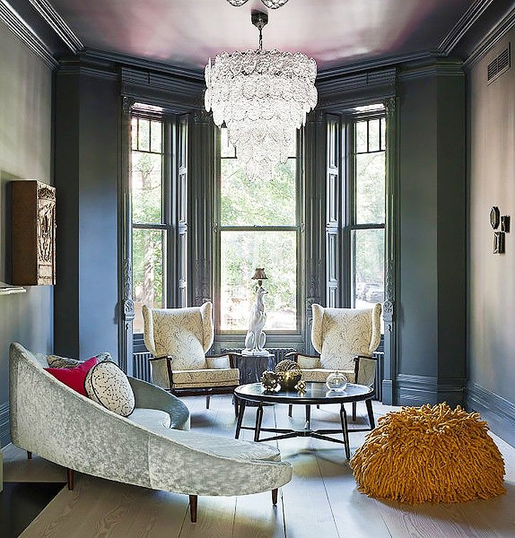 Homepolish Brooklyn Apartment Design With Cool Wallpaper: 146 Best Images About My Brownstone Obsession On Pinterest