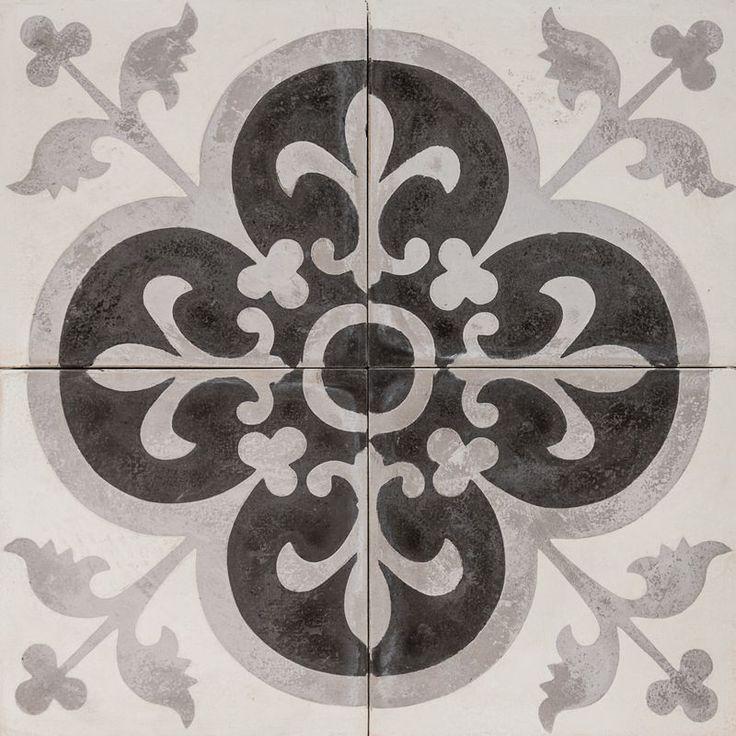 Cement Encaustic Tile Marrakech Design 996