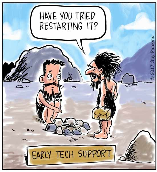 Early tech support