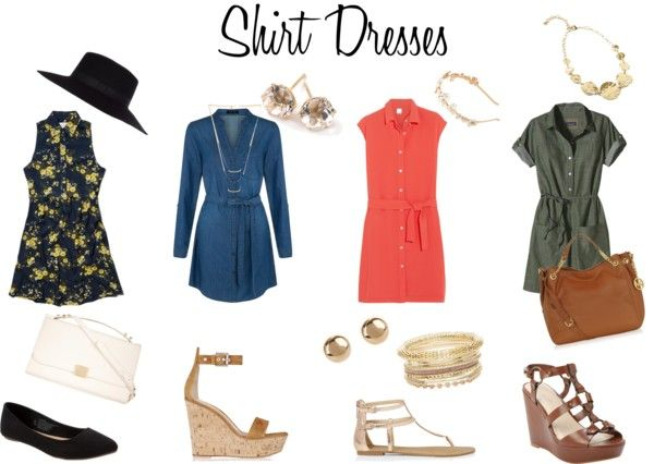 Shirt Dresses for Spring