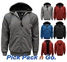 MENS NEW FAUX FUR HOODED JACKET PLAIN HOOD HOODIE ZIPPED SWEATSHIRT SIZE S-XXL in Clothes, Shoes & Accessories, Men's Clothing, Coats & Jackets   £16.99