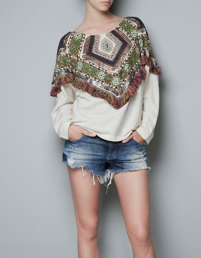 have you SEEN this sweatshirt? i found it in the oxford street zara  i am in LOVE.