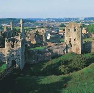 Coity Castle, Bridgend, South Wales - The castle began as a late 11th century ringwork. A rectangular stone keep and the main curtain wall were added by the Normans in the 12th century, under the de Turberville family. The three-storey keep was primarily a defensive structure.
