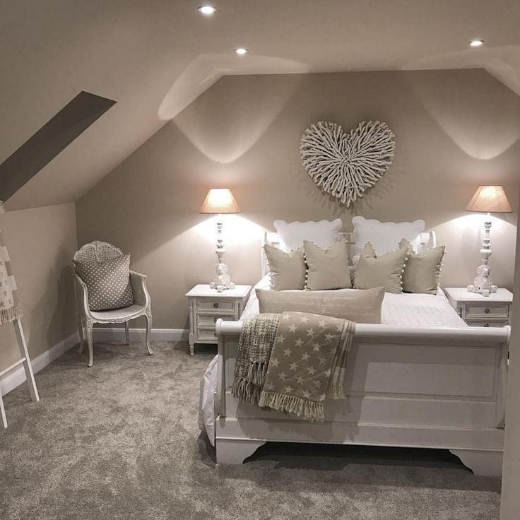 Epische 25 erstaunliche und schöne Loft-Schlafzimmer-Design ...