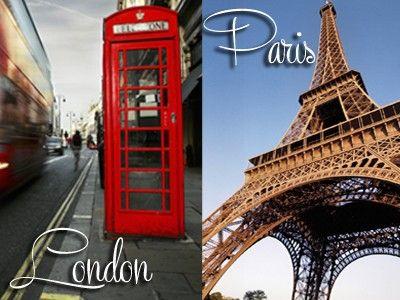 Pretty Paris vs London
