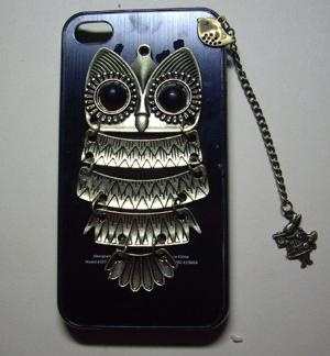 SILVER owl flower Case iPhone 4 Case iphone by sweethearteverybody: Iphone Cases, Iphone 4S, Cover, Owl Flower, Apple, Silver Owl, Iphone 4 Cases