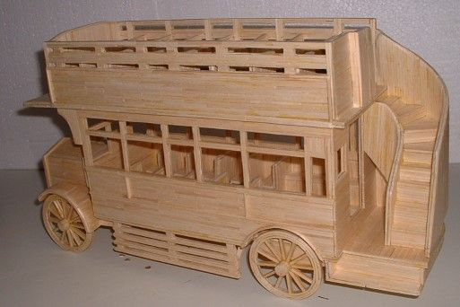 Matchstick Model Omnibus 2005 - Length 17 inches (44 cm)