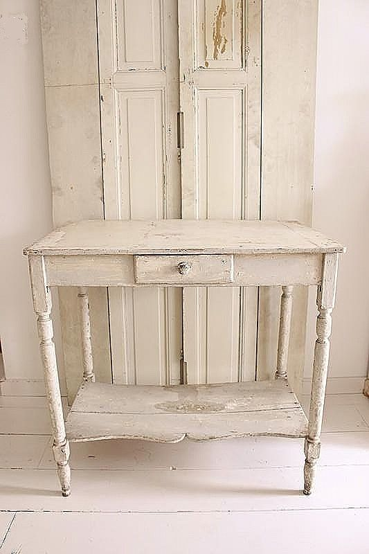 OLD FRENCH TABLE  SOLD